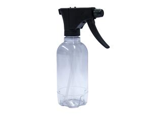Clear Pro Spray Bottle, Black Trigger Sprayer