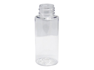 60ml Round Clear PET Plastic Bottle 24-410