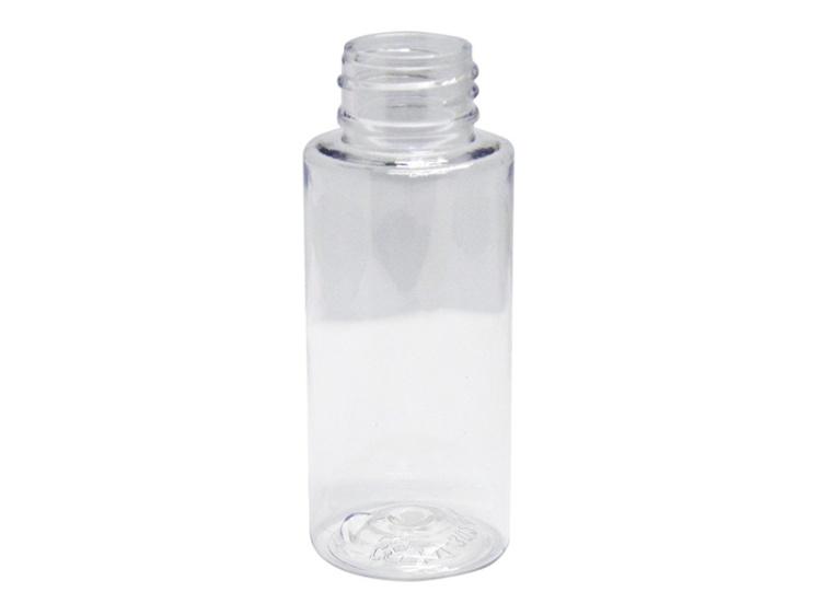 60ml Round Clear PET Plastic Bottle 24-410