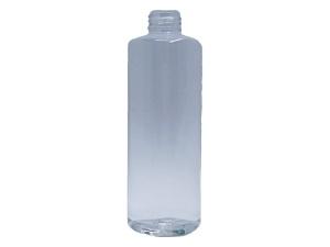 250ml Round Clear PET Plastic Bottle