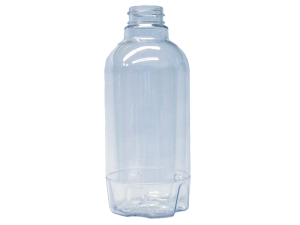 320ml Clear PET Plastic Bottle, Round
