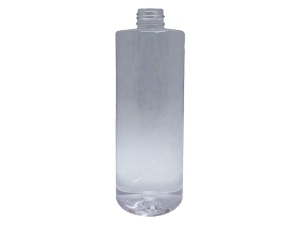 350ml Round Clear PET Plastic Bottle