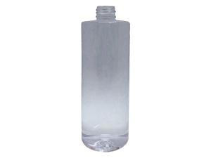 350ml Round Clear PET Plastic Bottle
