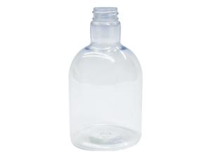 450ml Clear PET Plastic Bottle, Round