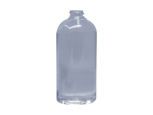 General Clear PET Plastic Bottle, Round Shapes