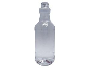 500ml Clear PET Plastic Carafe Bottle