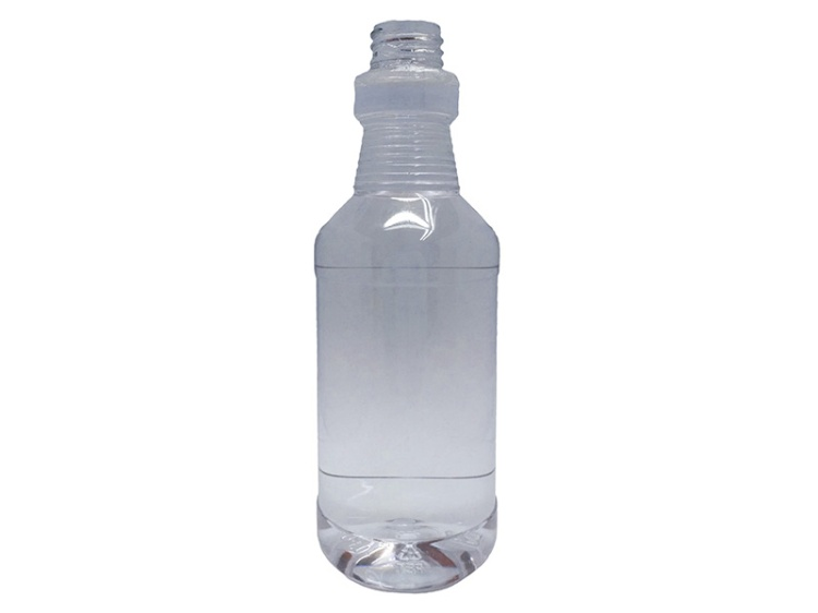 500ml Clear PET Plastic Carafe Bottle