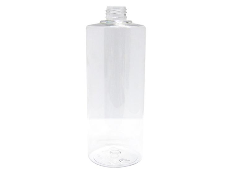 500ml Round Clear PET Plastic Bottle 24-410