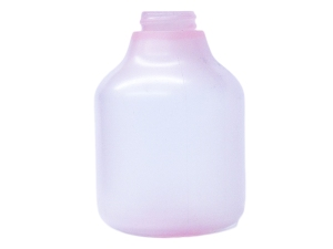 240ml Translucent Pink PP Plastic Bottle