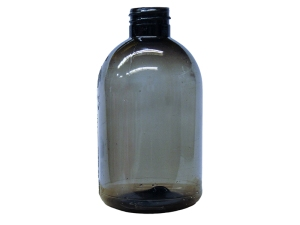 290ml Translucent Black PETG Plastic Bottle