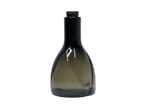 500ml Translucent Black PVC Plastic Bottle