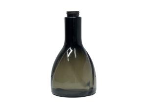 500ml Translucent Black PVC Plastic Bottle