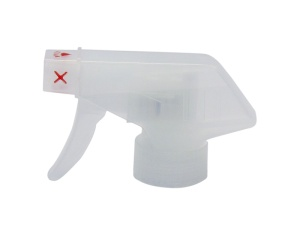 Clear Chemical Resistant Trigger Sprayer