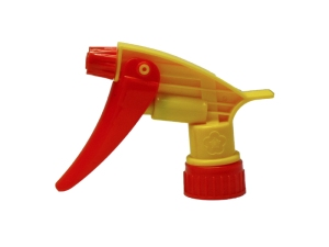 Red Yellow Chemical Resistant Trigger Sprayer
