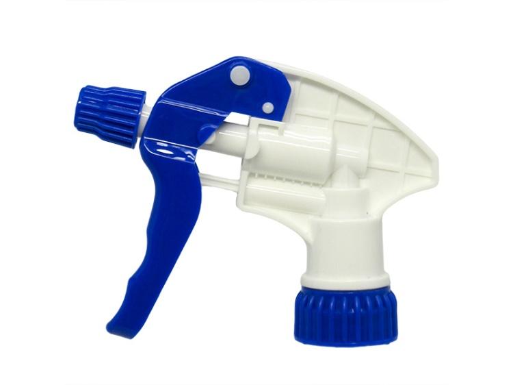 Pro Blue White Chemical Resistant Trigger Sprayer