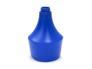 General Blue HDPE Plastic Bottle