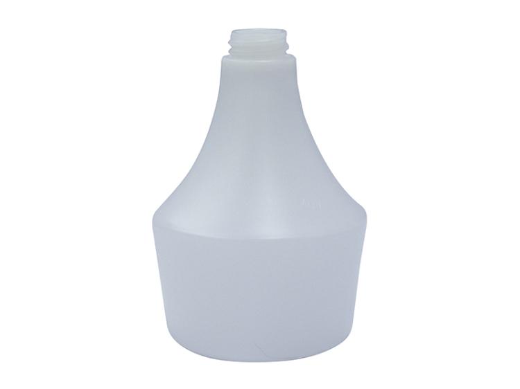 General White HDPE Plastic Bottle