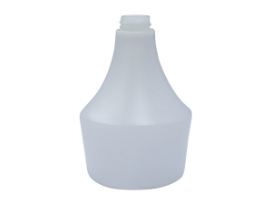 General White HDPE Plastic Bottle